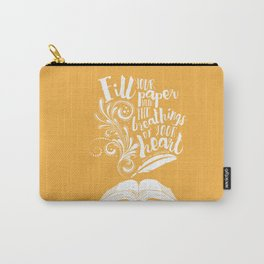 The Breathings of Your Heart Carry-All Pouch