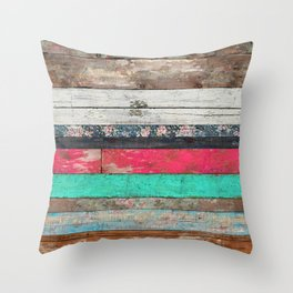 The Sounds of Times Throw Pillow