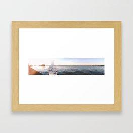River side Framed Art Print