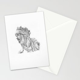 If angels fight, weak men must fall Stationery Cards