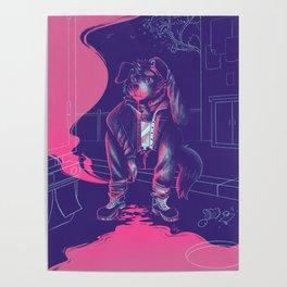 doomer dog Poster