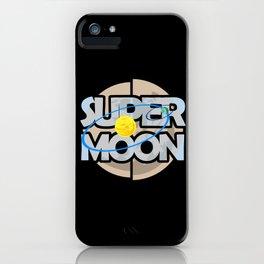 Super Moon Diagram iPhone Case