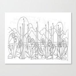 Stalks Canvas Print