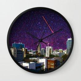 Stars in Portland Wall Clock