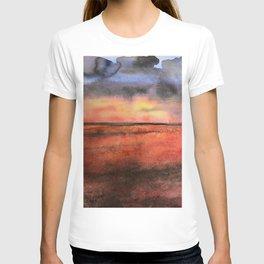 Orange at the Beach T-shirt