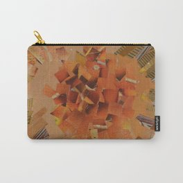 """""""The Hot Energy"""" Ecologic atypic art - 1/3 - by WHITEECO Ecologic design Carry-All Pouch"""