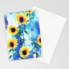 Sunflower Sky Stationery Cards