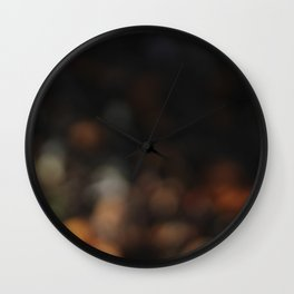 garden lights Wall Clock