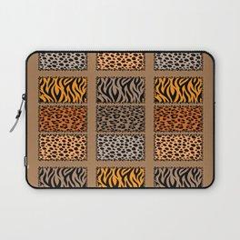 Wild Cats Jungle Print Laptop Sleeve