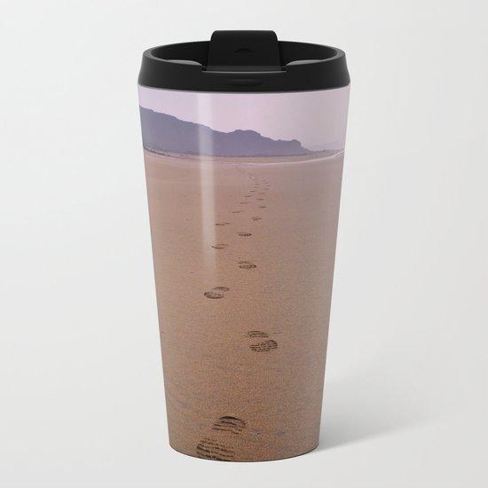 THE WHOLE BEACH TO MYSELF Metal Travel Mug