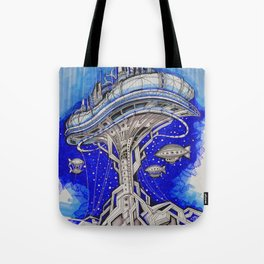 PLATFORM CITY Tote Bag