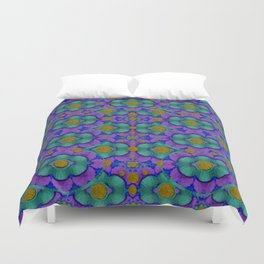 Your inner place filled of peace and poetry Duvet Cover