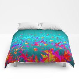 Faerie Garden Vignette | Flower | Flowers | Comforters