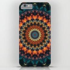Fundamental Spiral Mandala iPhone 6s Plus Slim Case