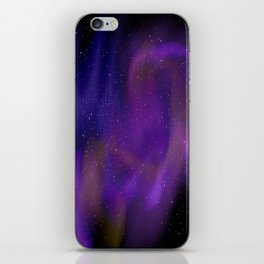 Spacey space iPhone Skin