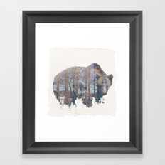 WILD ANIMAL 02 Framed Art Print