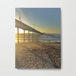 Ocean Beach Pier Metal Print