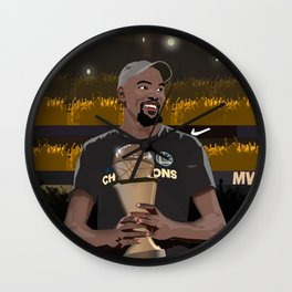 A new king is crowned in the NBA Wall Clock