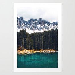 Nature Layers Art Print