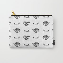Eye Eyelashes Pattern Carry-All Pouch