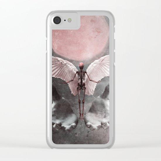 Fallen Angel 2 Clear iPhone Case