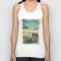 alice in wonderland Tank Tops featuring Dating Alice in wonderland by HappyMelvin