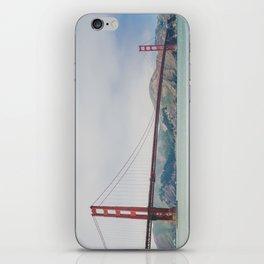 San Francisco - Golden Gate Bridge iPhone Skin