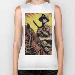 Australian Light Horse soldier Biker Tank