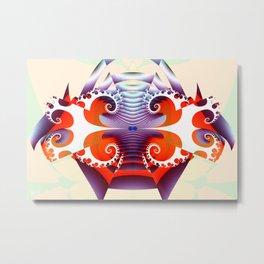 HO-TI (Japanese) Metal Print
