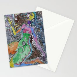 The Living Universe Stationery Cards