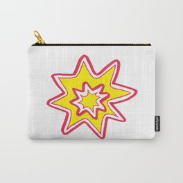 POW! - yellow, red, white Carry-All Pouch