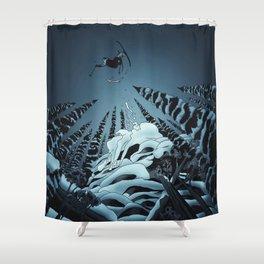 The Lost Season Shower Curtain