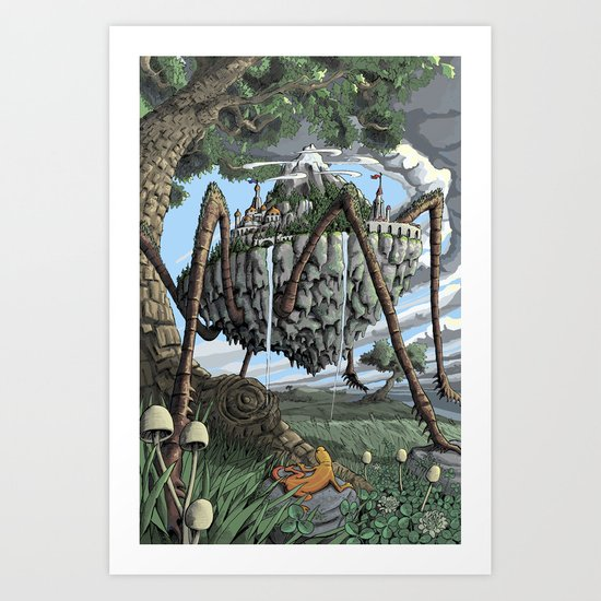 Spiderback Mountain Art Print