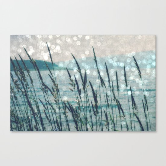 Afternoon at the Lake Canvas Print