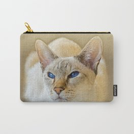 SIAMESE CAT LOVE Carry-All Pouch