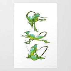 Basilisk Art Print
