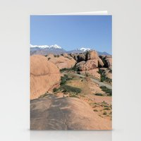 utah Stationery Cards featuring Moab Utah by BACK to THE ROOTS