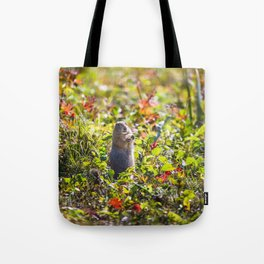 Breakfast on the Grass Tote Bag