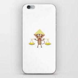 Vietnamese monkey iPhone Skin