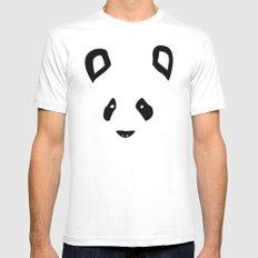 Panda Mens Fitted Tee White MEDIUM