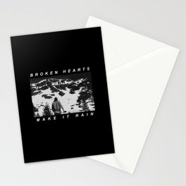 Radiohead Thom Yorke Raining Stationery Cards