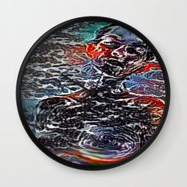 Explicit Abstractique Woman Wall Clock
