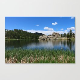 Sylvan Lake In The Black Hills Canvas Print