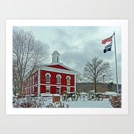 Iron County Courthouse Art Print