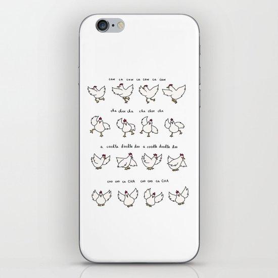 Chicken Dance iPhone & iPod Skin