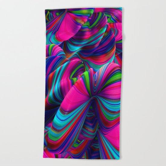 Abstract Pop Beach Towel