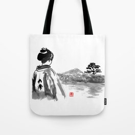 geisha's watching Tote Bag