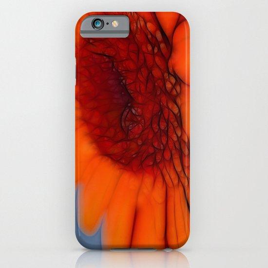 Orange Gerbera iPhone & iPod Case