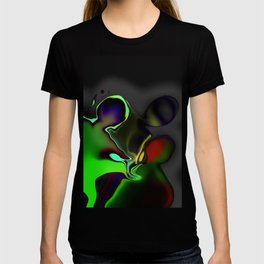 Intergalactic interrogation T-shirt