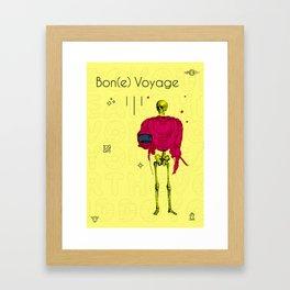 Bone Voyage Framed Art Print